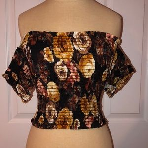 Windsor Tube Top with pull on sleeves